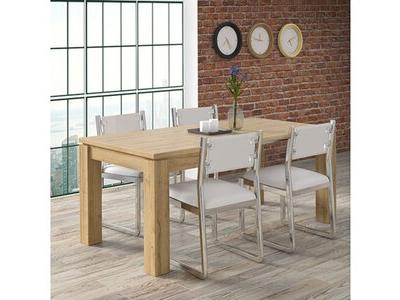 Table de repas carrée extensible Dany 4