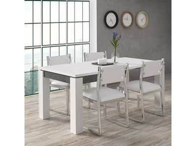 Table de repas carrée extensible Lennox