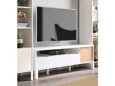 Meuble tv 1 tiroir 1 porte