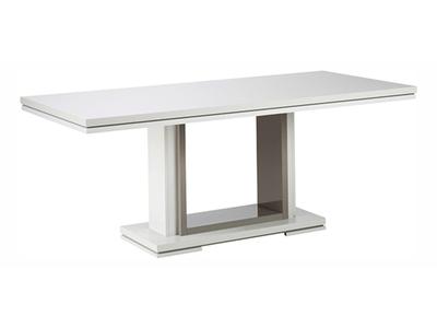 Table de repas extensible Rimini taupe/gris