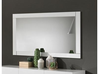 Miroir Greta laqué blanc