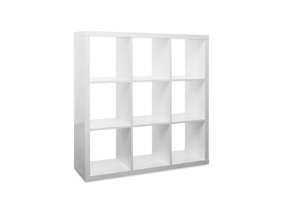 Bibliothèque 9 cases