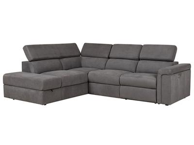 Canapé d'angle gauche relax Anjelina