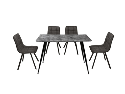 Table + 4  chaises Gary