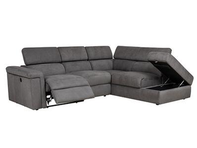 Canapé d'angle droite relax Anjelina