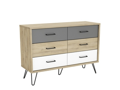 Commode 6 tiroirs Filea