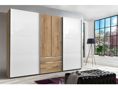 Armoire 2p+2p coulissantes Magic glas