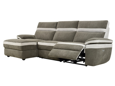 Canapé d'angle relax à gauche