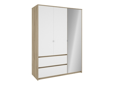 Armoire 3 portes et 2 tiroirs Titan