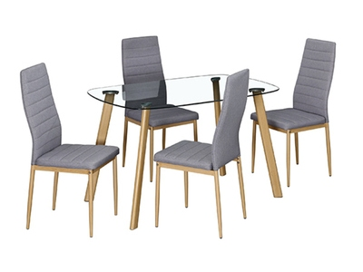 Ensemble table + 4 chaises Stronje
