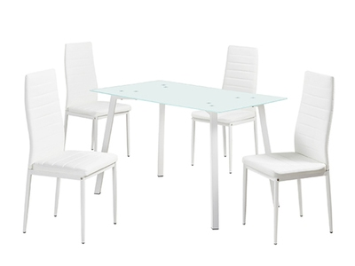 Ensemble table + 4 chaises