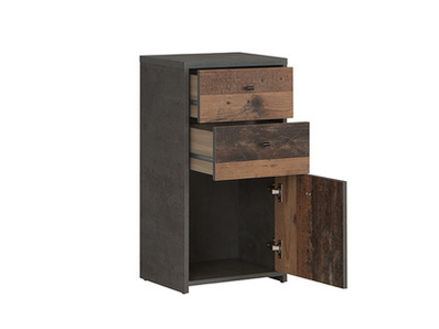 Commode 1 porte 2 tiroirs Best chest vintage