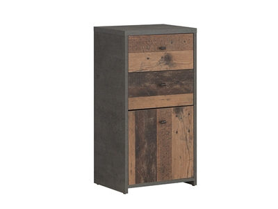 Commode 1 porte 2 tiroirs Best chest vintage