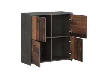 Commode 4 portes Best chest vintage