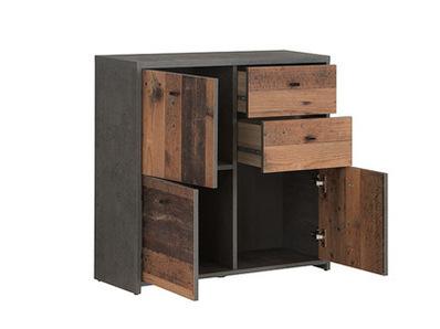 Commode 3 portes 2 tiroirs Best chest vintage
