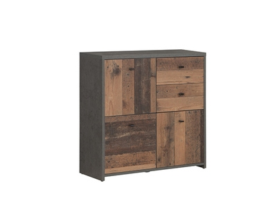 Commode 3 portes 2 tiroirs Best chest vintage
