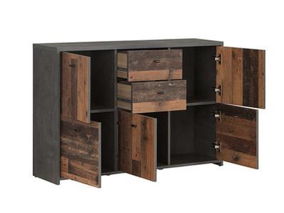 Commode 5 portes 2 tiroirs Best chest vintage