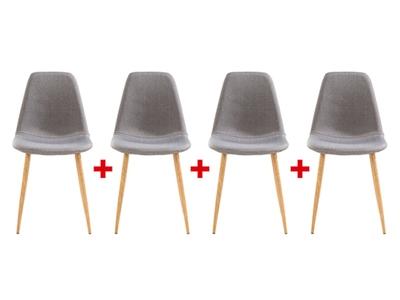 Lot de 4 chaises Bjork