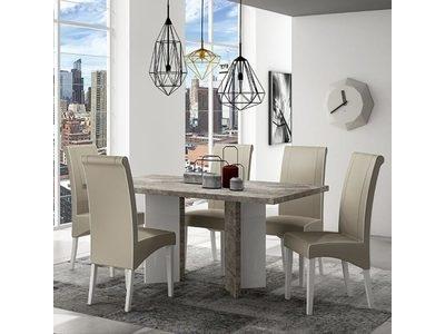 Table de repas fixe Treviso salle à manger