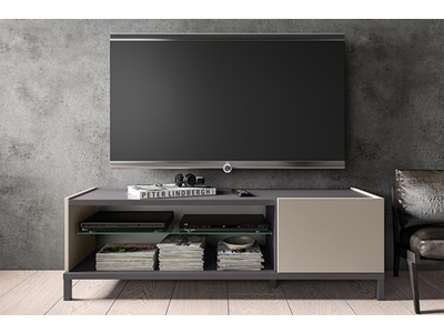 Meuble tv 1 porte + 2 niches