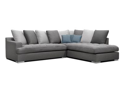 Canapé d'angle à droite Palerme