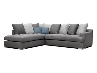 Canapé d'angle à gauche Palerme
