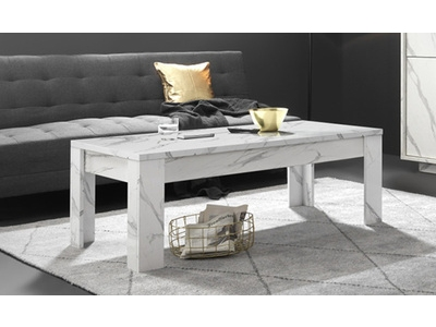 Table basse Ice marbre blanc