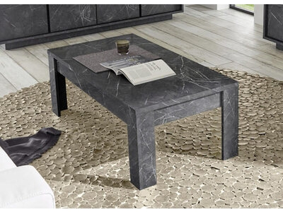 Table basse Ice marbre noir