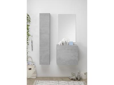 Composition murale + colonne