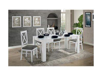 Table de repas carrée  extensible Idea