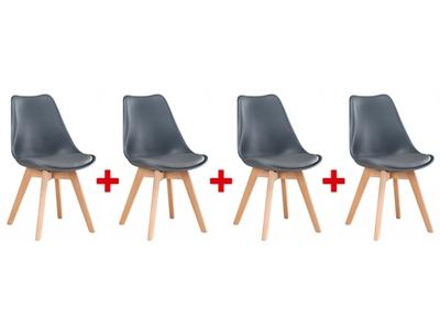 Lot de 4 chaises Beech
