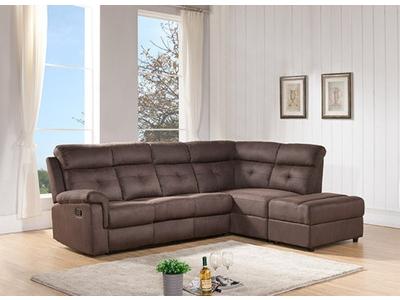 Canapé d'angle à droite 1 relax