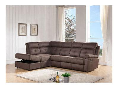 Canapé d'angle à gauche 1 relax Lucerne