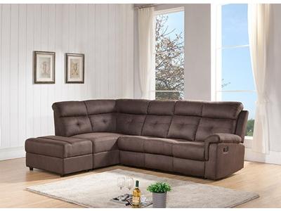 Canapé d'angle à gauche 1 relax