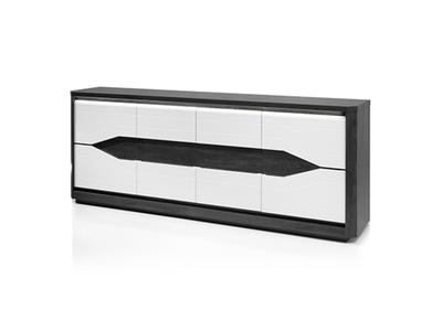 Bahut 4 portes 1 tiroir Matera