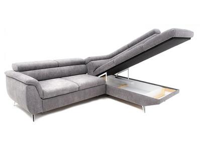 Canapé-lit angle à droite Wentus