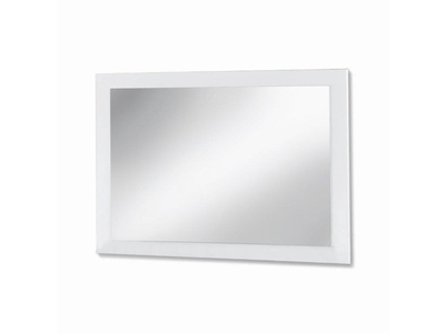 Miroir Mary blanc brillant