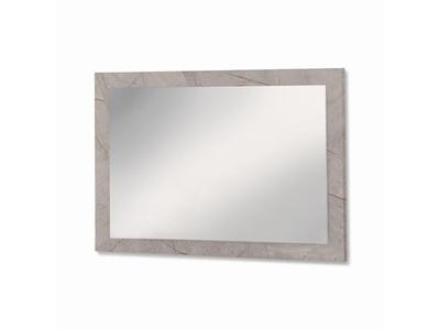 Miroir Mary béton marbré brillant