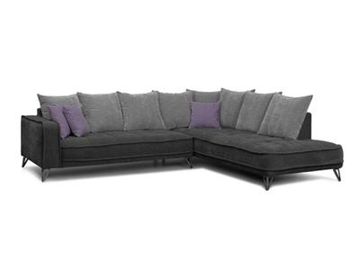 Canapé d'angle à droite Tesoro