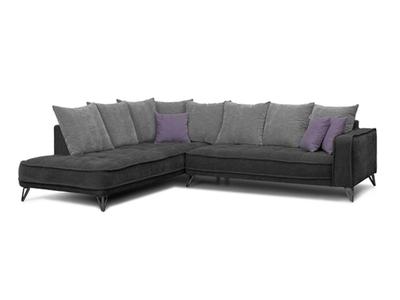 Canapé d'angle à gauche Tesoro