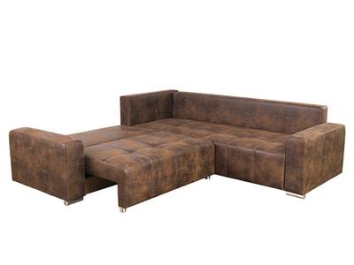 Canapé d'angle à gauche Brento