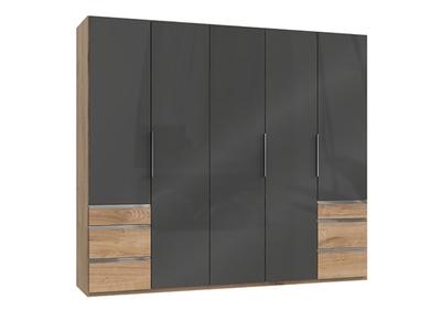 Armoire 5 portes + 6 tiroirs