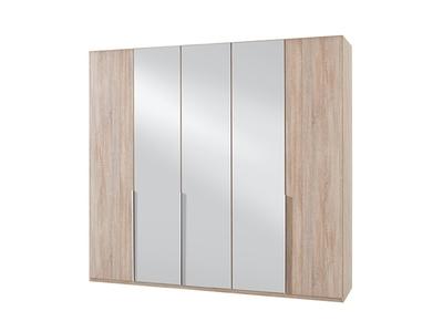 Armoire 5 portes dont 3 miroirs