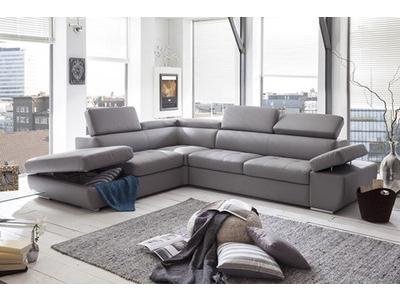 Canapé d'angle lit à gauche
