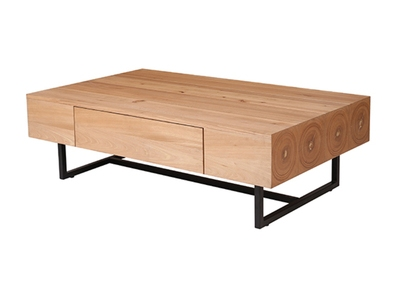 Table basse 1 tiroir Cadeo