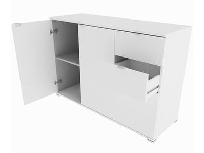 Bahut 3 portes 2 tiroirs Perf