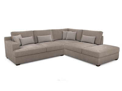 Canapé d'angle droit Ingrid