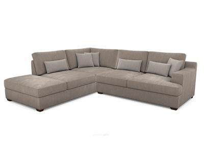 Canapé d'angle gauche Ingrid