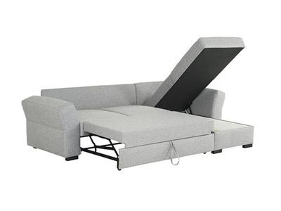 Canapé d'angle convertible et réversible Nizza