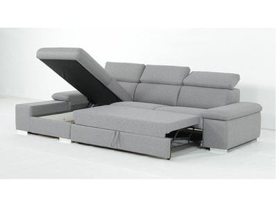 Canapé d'angle convertible à gauche Orca